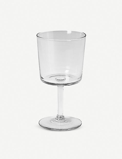 THE CONRAN SHOP: Arles recycled glass red-wine glass 14.5cm