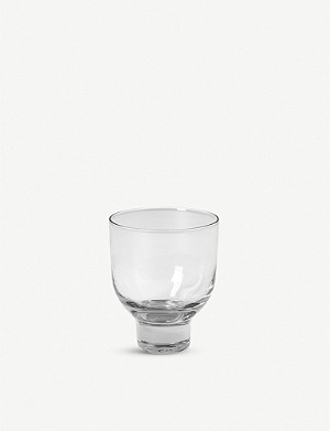 THE CONRAN SHOP Rochelle recycled-glass wine glass 11cm
