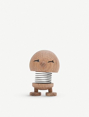 THE CONRAN SHOP Hoptimist Woody Bimble oak ornament 13cm