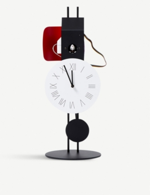 THE CONRAN SHOP Diamantini and Domeniconi Momento steel clock 56cm