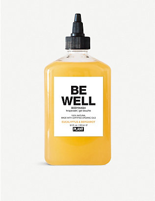 THE CONRAN SHOP: PLANT Apothecary BE WELL body wash 281ml