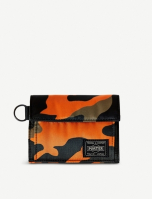 THE CONRAN SHOP PORTER Stand Camo wallet
