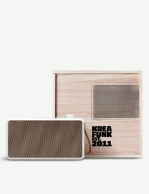 THE CONRAN SHOP Kreafunk tRadio portable speakers