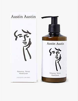 THE CONRAN SHOP: Austin Austin Palmarosa and Vetiver hand cream 250ml