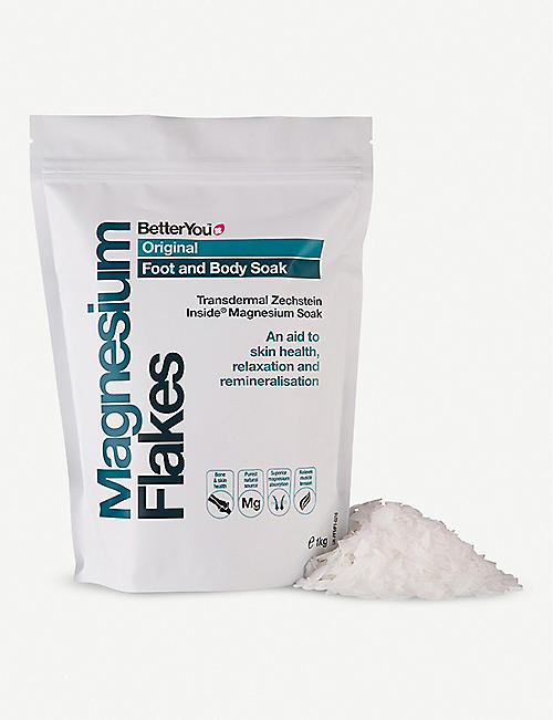 BETTER YOU BetterYou magnesium foot and body soak flakes 1kg