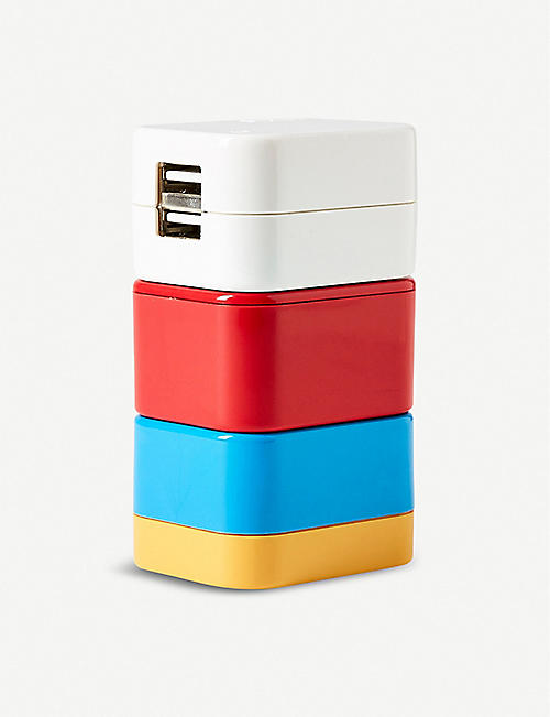THE CONRAN SHOP Flight 001 5-in-1 travel adaptor