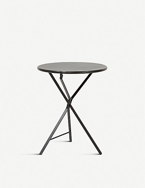 THE CONRAN SHOP: Adico 402 folding metal bistro table 75cm x 60cm
