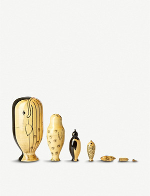 THE CONRAN SHOP COMPANY wooden Sea Creature Matryoshka
