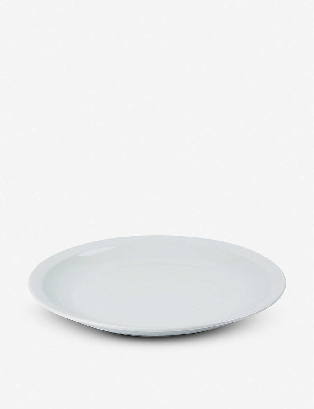 THE CONRAN SHOP: Pillivuyt Orbit porcelain dinner plate 27cm