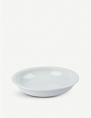 THE CONRAN SHOP: Pillivuyt Orbit porcelain pasta bowl 23cm