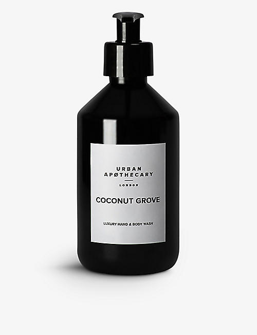 URBAN APOTHECARY Urban Apothecary Coconut Grove hand and body wash 300ml