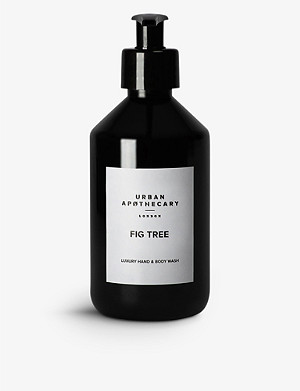 URBAN APOTHECARY Urban Apothecary Fig Tree hand and body wash 300ml