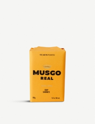 THE CONRAN SHOP Claus Porto Musgo Orange Amber body soap 125g