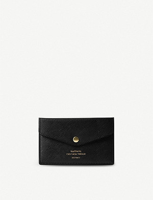 THE CONRAN SHOP Delfonics Quitterie faux-leather card pouch 7cm