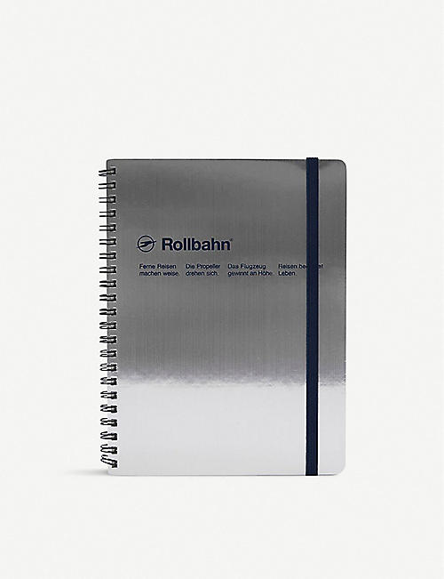THE CONRAN SHOP Delfonics Rollbahn A5 Spiral Notebook