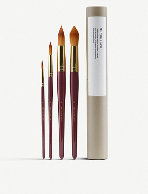 THE CONRAN SHOP House Doctor Monograph watercolour paintbrushes set of 4