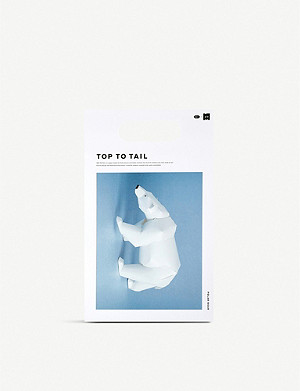 THE CONRAN SHOP Yasuyuki Wada for gu-pa Top To Tail 3D paper polar bear model 11cm