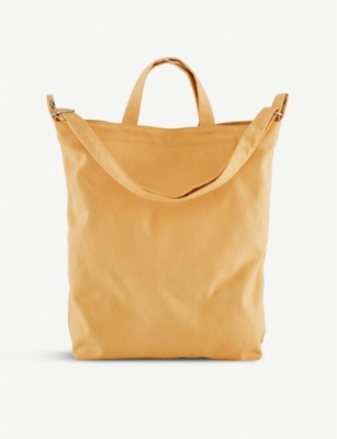 THE CONRAN SHOP BAGGU Duck cotton-canvas shoulder bag
