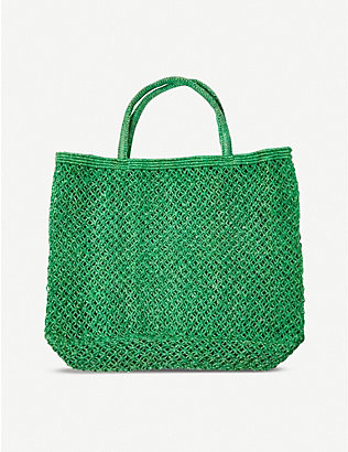 THE CONRAN SHOP: The Conran Shop x Maison Bengal Mercado knotted jute bag