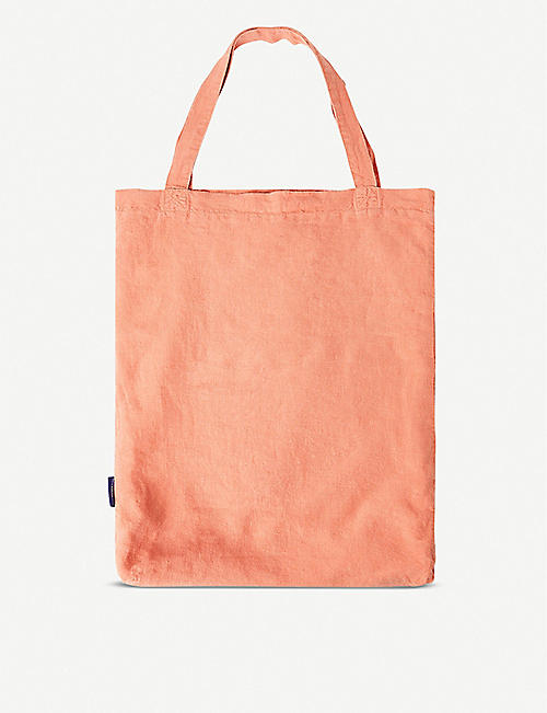 THE CONRAN SHOP Lined linen tote bag