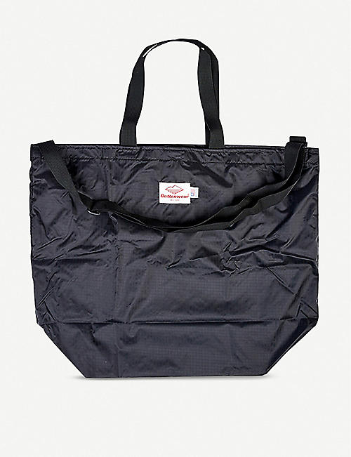 THE CONRAN SHOP Battenwear packable cotton-nylon blend tote bag