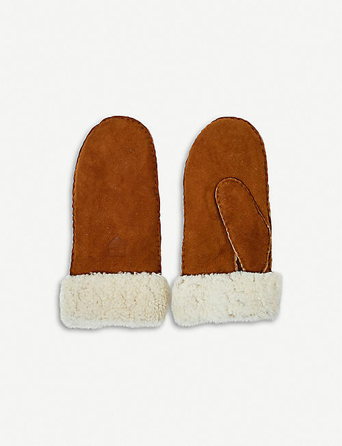 THE CONRAN SHOP: Hestra sheepskin mittens size 8