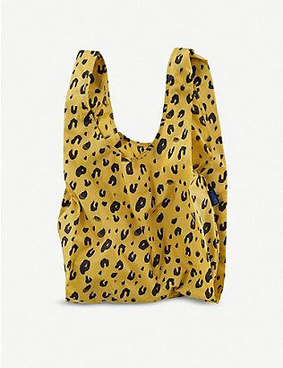 THE CONRAN SHOP: Leopard reusable nylon tote bag