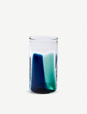 THE CONRAN SHOP Smokey Stripe high ball glass 420ml