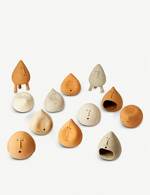 THE CONRAN SHOP Over Expressive Clayman ornament set