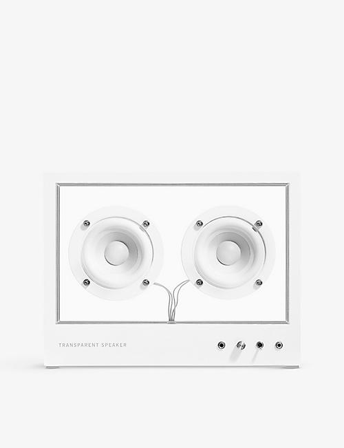 THE CONRAN SHOP: Transparent speaker small