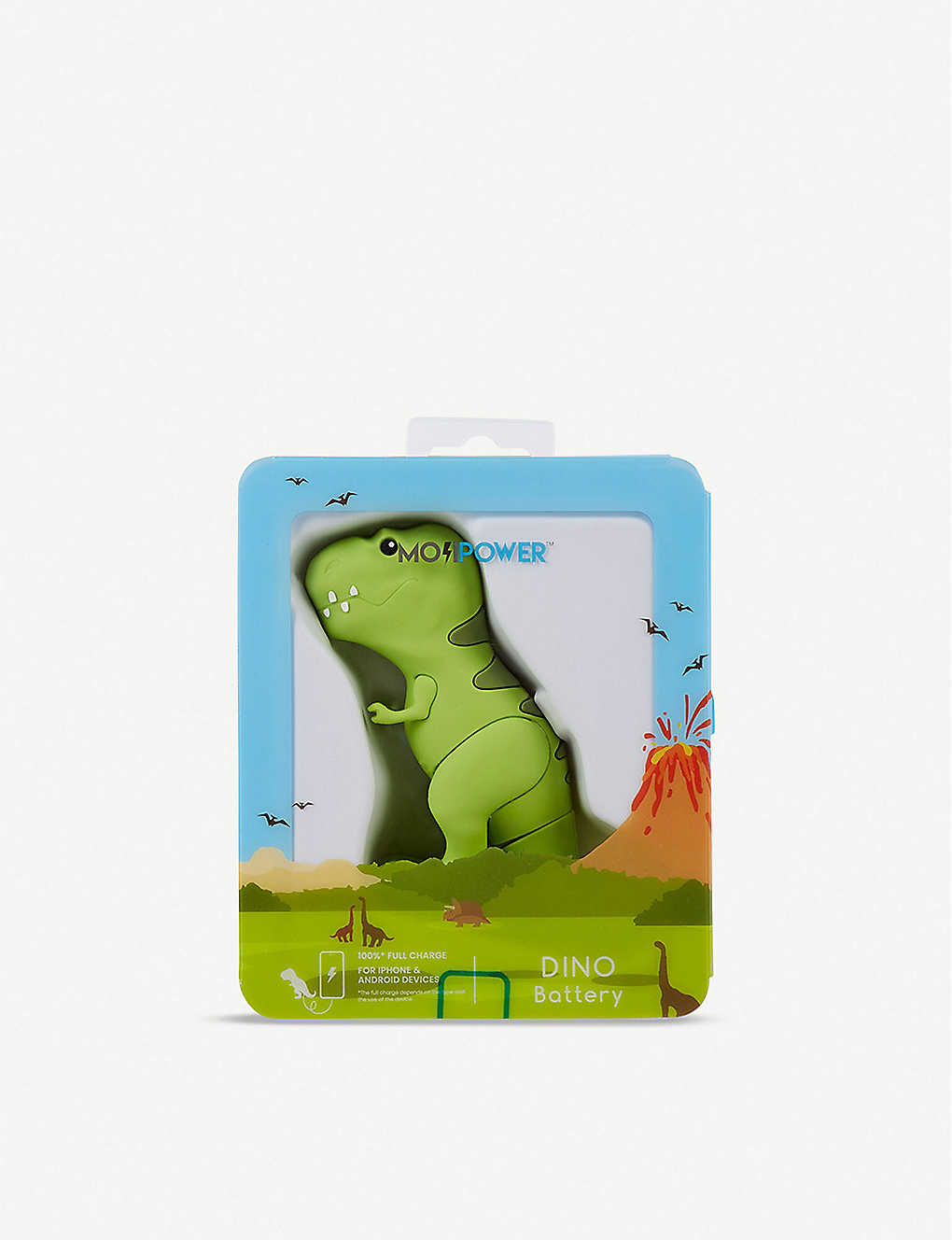 THE CONRAN SHOP: T-Rex Emoji Power Bank