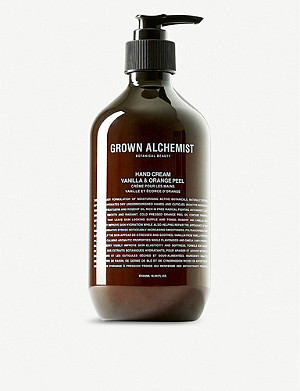 THE CONRAN SHOP Grown Alchemist Vanilla & Orange Peel hand cream 500ml