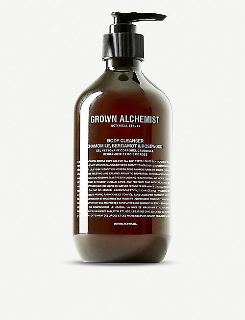 GROWN ALCHEMIST Grown Alchemist Camomile, Bergamot and Rose body cleanser 500ml