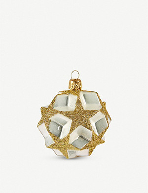 THE CONRAN SHOP Stars Christmas bauble 8cm