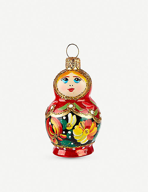 THE CONRAN SHOP: Matryoshka doll Christmas hanging decoration