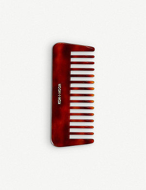 THE CONRAN SHOP Tort faux-tortoiseshell comb