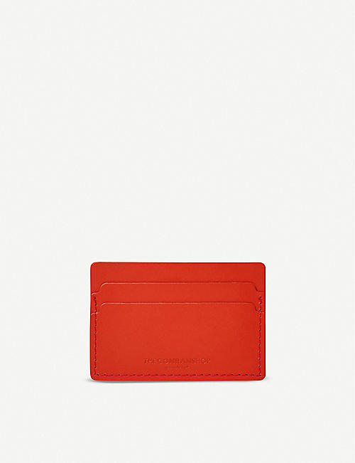 THE CONRAN SHOP Leather card holder