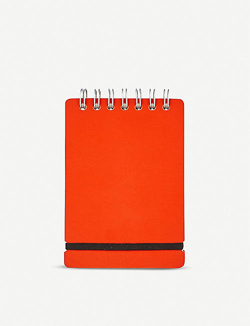 THE CONRAN SHOP: Recycled-leather A6 notebook