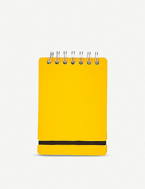 THE CONRAN SHOP Recycled-leather A6 notebook