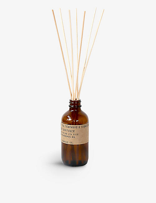 P.F CANDLE CO Teakwood & Tobacco Diffuser