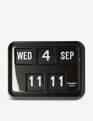THE CONRAN SHOP TWEMCO Series 17 Flip Clock & Calendar
