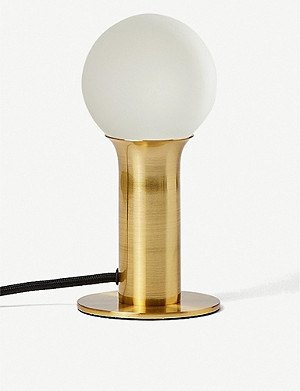 THE CONRAN SHOP x Well-lit brass table lamp