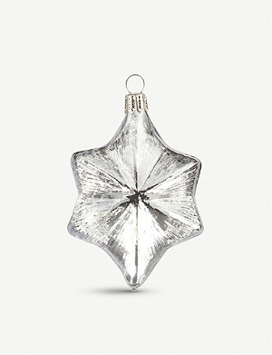 THE CONRAN SHOP Star Christmas tree decoration