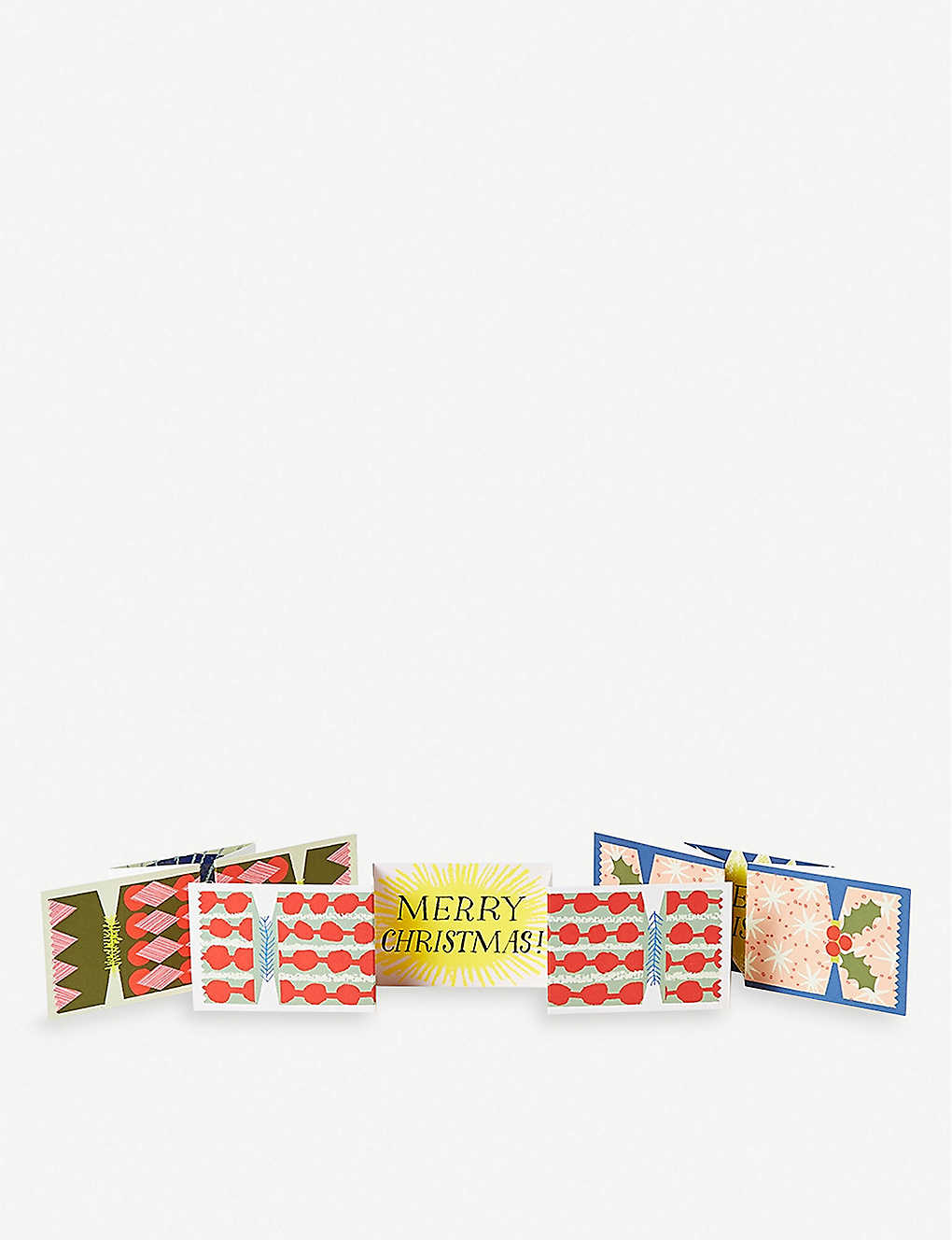 THE CONRAN SHOP: Pop-up Christmas cracker cards set of three