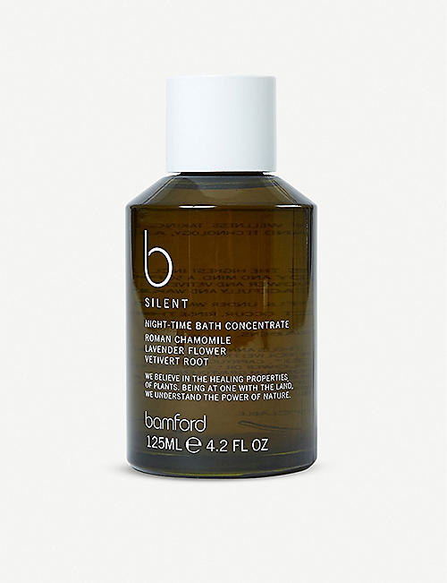 THE CONRAN SHOP: Bamford B Silent Night Time Bath Concentrate 125ml