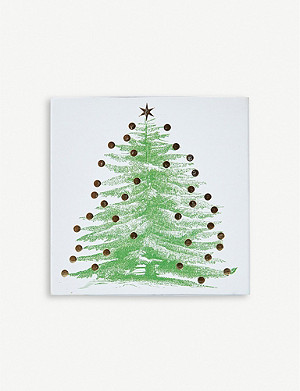 THE CONRAN SHOP Archivist Christmas Tree Matches set of 150