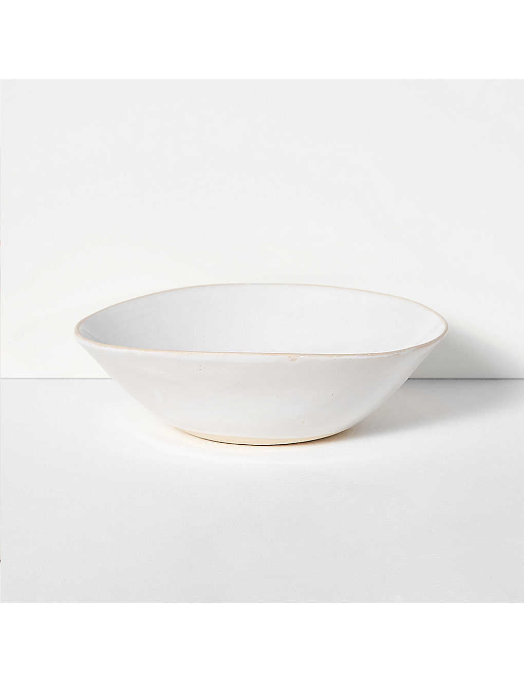 THE CONRAN SHOP: Wonki Ware organic sand medium salad bowl 26cm