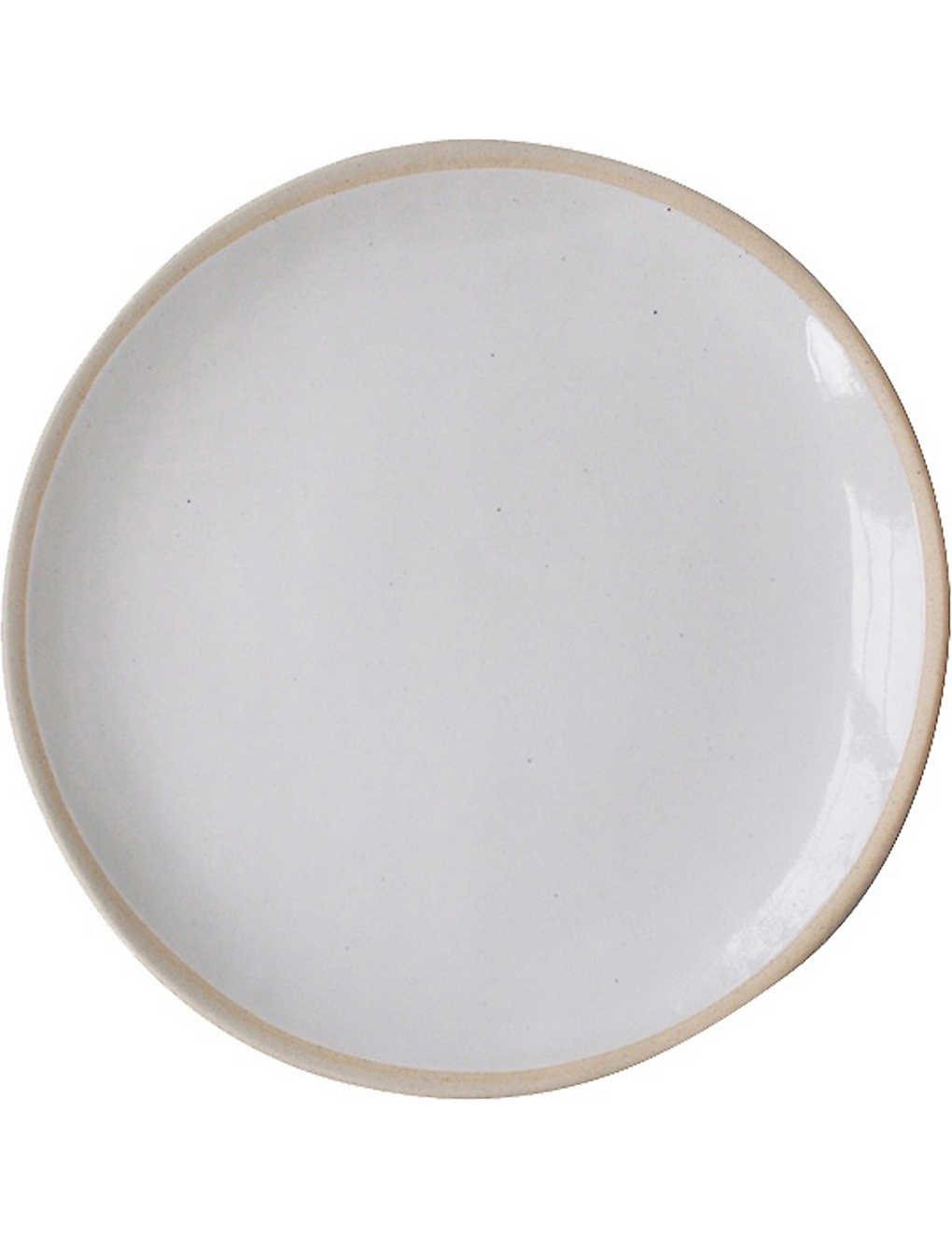 THE CONRAN SHOP: Wonki Ware organic sand cake server plate 36cm
