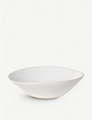 THE CONRAN SHOP: Wonki Ware organic sand salad bowl 36cm