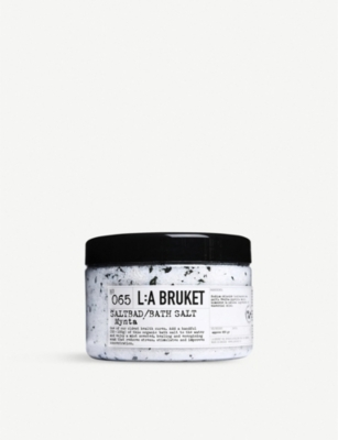 THE CONRAN SHOP L:A Bruket mint bathsalt 450g